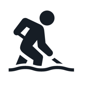snow shovel icon